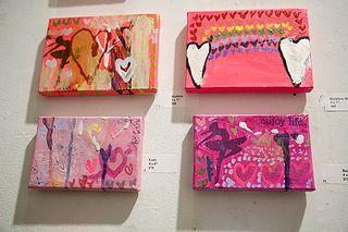 Amanda Dolan Heart Attack Paintings