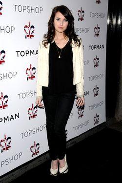 Top Shop Night 1 Dinner Arrivals_GeorginaChapman
