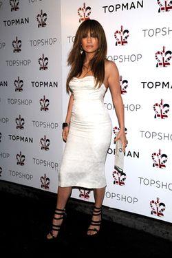 Top Shop Night 2 Dinner Arrivals_ Jennifer Lopez