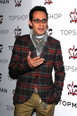 Top Shop Night 2 Dinner Arrivals_ Marc Anthony