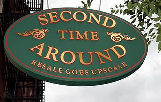 Second Time Around Sign