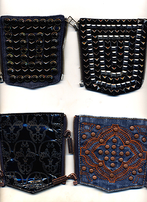 Gridlock Denim Pocket Samples