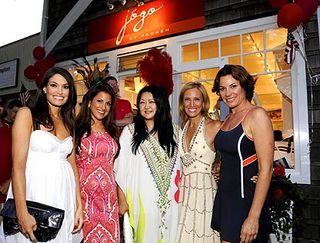 Kimberly Guilfoyle, Gigi Stone, Susan Shin, Pooneh Mohazzabi, Countess LuAnn de Lesseps