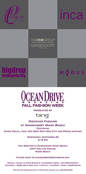 OCEAN DRIVE FALL FASHION WEEK_INVITE