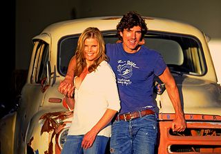 Mariel Hemingway and Bobby Williams