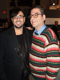 BOCONCEPT HOLIDAY PARTY 2010_MAO & MICHAEL MUSTO