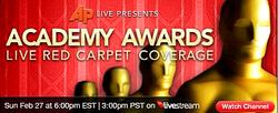 AP LIVESTREAM OSCARS COVERAGE