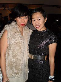 BOCONCEPT HOLIDAY PARTY 2010-ANGEL CHANG & NIKI CHENG