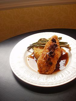 YOU CHOOSE I COOK_ CHICKEN MARSALA+COUS COUS_GRILLED ASPARAGUS