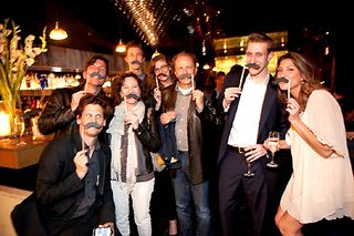 Mr. Stache Premiere Atmosphere