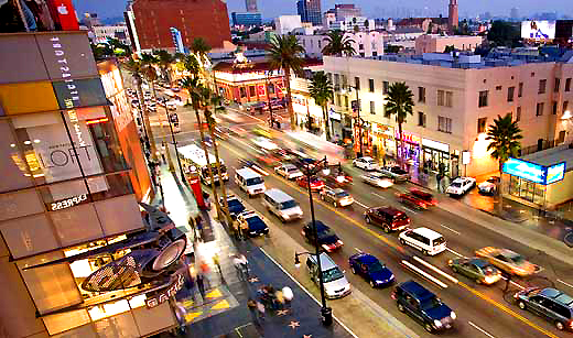 Hollywood-and-vine-boulevards