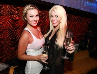 ENCORE BEACH CLUB CIARA & CRYSTAL HARRIS