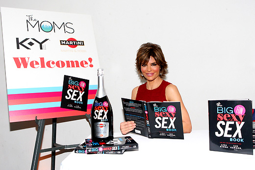 LISA RINNA_THE MOMS & MARTINI CELEBRATE LISA RINNA NEW BOOK