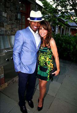 GEORGE LUCAS HONORED_NEYO & PAULA ABDUL