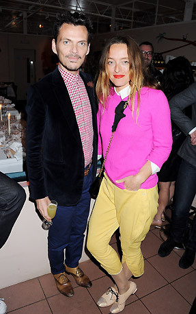 DMB-STYLECOM_DINNER_MATTHEW WILLIAMSON + ALICE TEMPERLEY