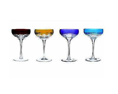 WATERFORD MIXOLOGY COLORED MARTINI SET