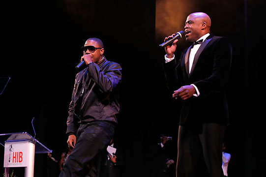 THE HIP HOP INAUGURAL BALL_DOUG E FRESH & WAYNE BRADY