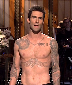 ADAM LEVINE ON SNL
