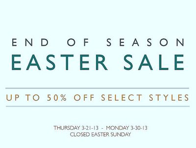 CHRISTOPHER FISCHER EASTER SALE