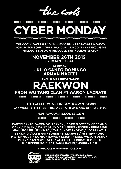 THE COOLS_CYBER MONDAY