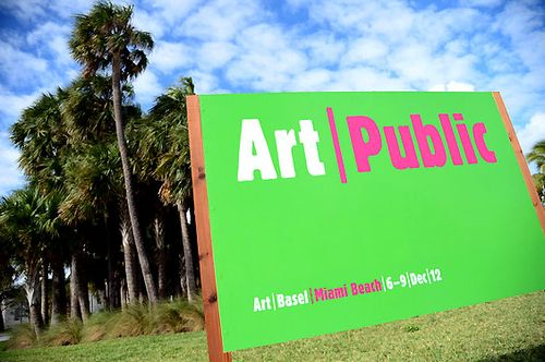 ART BASEL MIAMI BEACH 2012_ART PUBLIC SIGN