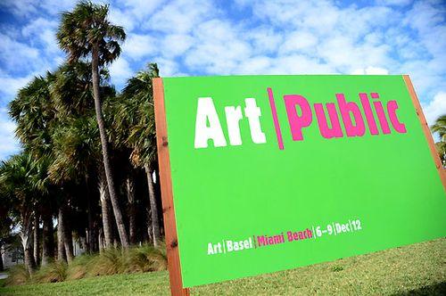 ART BASEL MIAMI BEACH 2012_ART PUBLIC SIGN