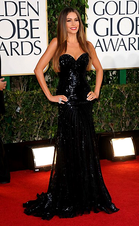 GOLDEN GLOBES 2013_SOFIA VERGARA