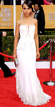 KERRY WASHINGTON AT 2013 SAG AWARDS