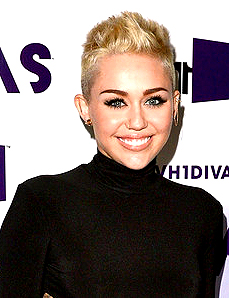 MILEY CYRUS NEVER HAVE LONG HAIR AGAIN 2