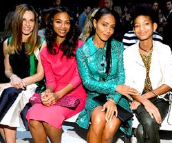 JADA PINKETT AT NEW YORK FASHION WEEK