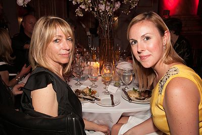 32nd ANNUAL BOMB GALA_KIM GORDON & GUEST
