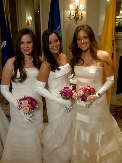 58th INTL DEBUTANTE BALL_NY + NJ DEBUTANTES IN RECEIVING LINE