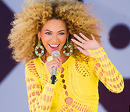 BEYONCE PRESIDENTIAL INAUGURATION-PERFORMANCES