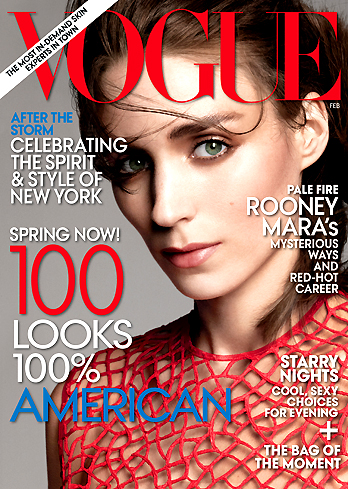 Rooney Mara February Cover