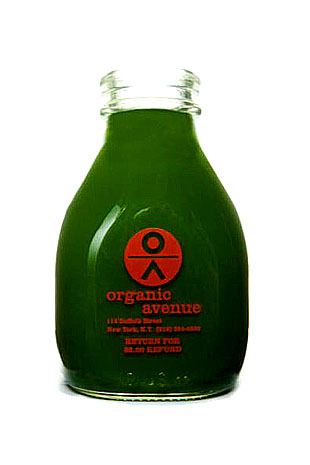 ORGANIC AVENUE_Green_Love