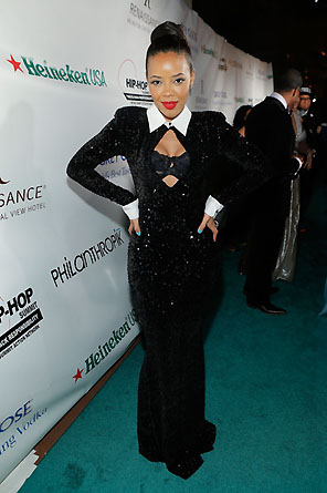 THE HIP HOP INAUGURAL BALL_ANGELA SIMMONS