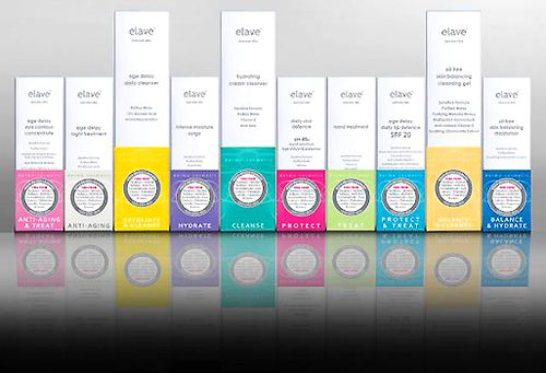 ELAVE SKINCARE PRODUCT LINE