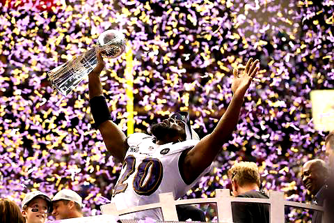 SUPERBOWL 47- ED REED