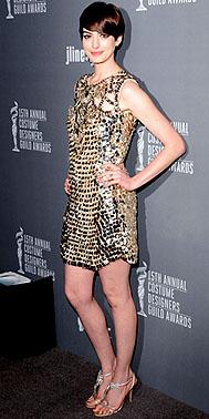 Anne-Hathaway Costume Designer Guild Awards