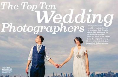 AMERICAN PHOTO MAGAZINE TOP WEDDING PHOTOGRAPHERS