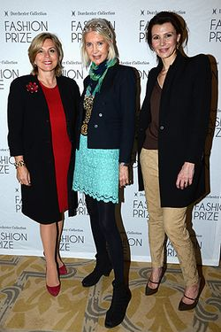 Launch_Of_Dorchester Collection Paris_Isabelle Maurin (L), Anne de Champigneul and Anne Vogt-Bordure (R)jpg