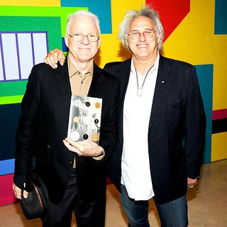 BAD BOY LAUNCH_STEVE MARTIN & ERIC FISCHL