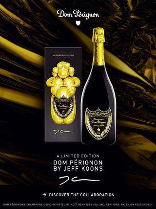 DOM PERIGNON BY JEFF KOONS