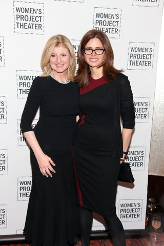 Arianna Huffington & Desiree Gruber