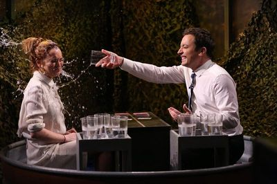 LINDSAY LOHAN ON THE TONIGHT SHOW STARRING JIMMY FALLON