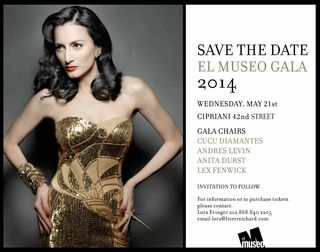 El Museo's Save the Date-1-1-1-1