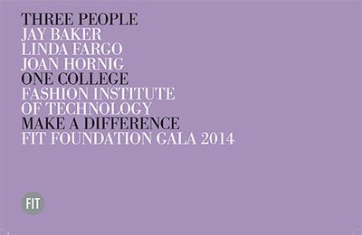 2014 FIT FOUNDATION GALA SAVE THE DATE