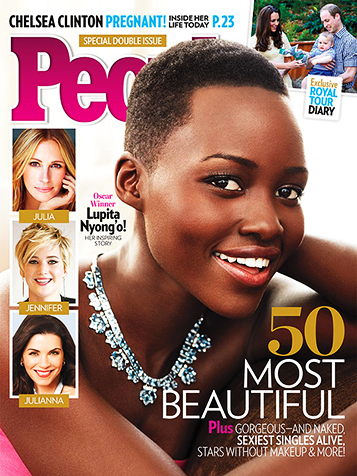 PEOPLE MAGAZINE'S MOST BEAUTIFUL PEOPLE ISSUE 2014