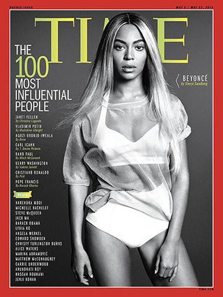 TIME MAGAZINE'S THE 100 MOST INFLUENTIAL PEOPLE_BEYONCE