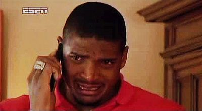 A VIDEO STILL OF MICHAEL SAM